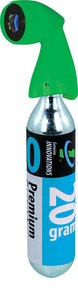 Genuine Innovations Microflate Green Nano patronos pumpa + 16g patron