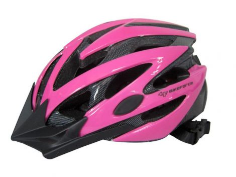 BikeForce Arrow 2 sisak pink-fekete