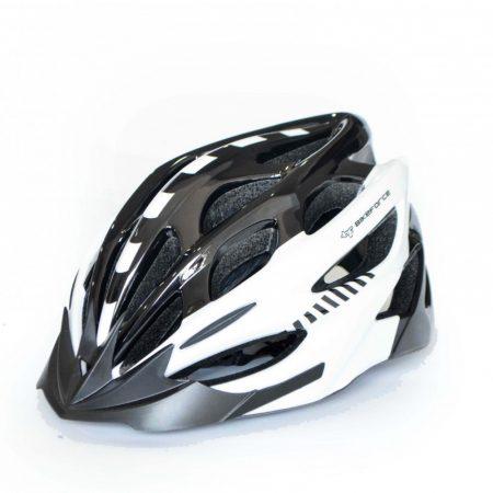 BikeForce Prestige sisak fehér-fekete