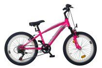Koliken Madman 20 rózsaszín gyermek kerékpár