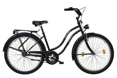 Koliken Cruiser kontrás női kerékpár fekete