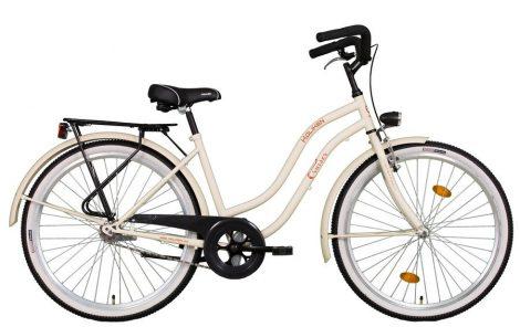 Koliken Cruiser kontrás női kerékpár latte
