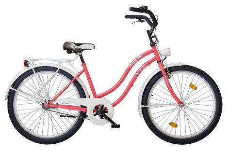 Koliken Cruiser kontrás női kerékpár rozé