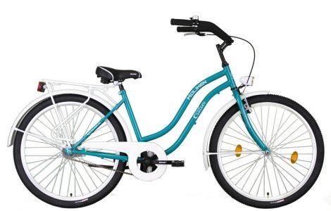 Koliken Cruiser kontrás női kerékpár türkiz