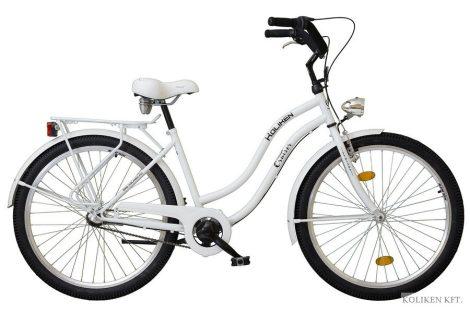 Koliken Cruiser agyváltós női kerékpár fehér