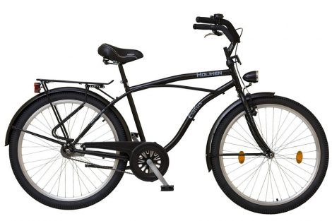 Koliken Cruiser kontrás férfi kerékpár fekete