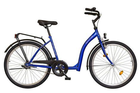 Koliken Hunyadi városi kerékpár kék