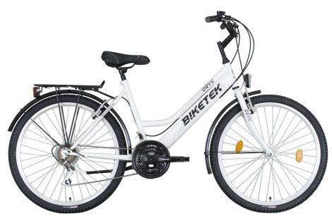 Biketek Oryx női felszerelt ATB kerékpár fehér