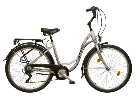 Koliken Sweet Bike 26 városi kerékpár ezüst