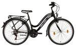 Koliken Cherry női felszerelt ATB kerékpár fekete