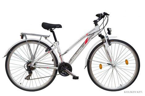 Koliken Gisu Alu női trekking kerékpár fehér