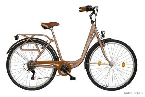 Koliken Ocean 28 6 sebességes városi kerékpár latte