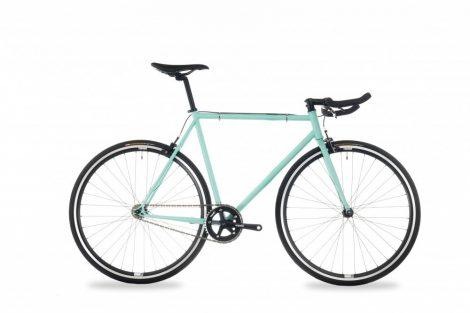 Csepel Royal 4* férfi fixi kerékpár 60 cm Türkiz