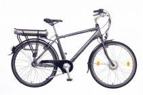 Neuzer E-City férfi pedelec kerékpár Grafit