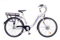 Neuzer E-City női pedelec kerékpár Fehér