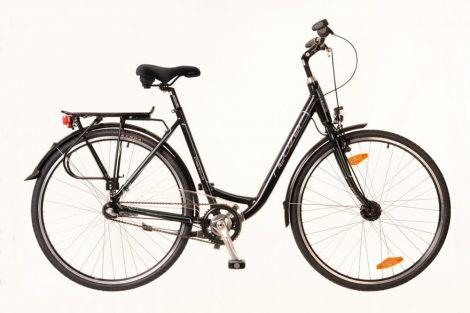 """Neuzer Padova 28 3 sebességes 17"""" városi kerékpár Fekete"""