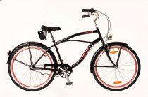 Neuzer Picnic férfi cruiser kerékpár Fekete