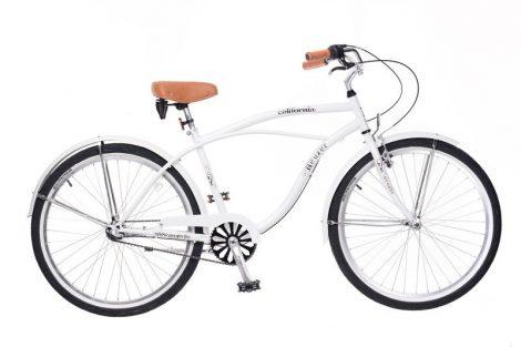Neuzer California férfi cruiser kerékpár Fehér