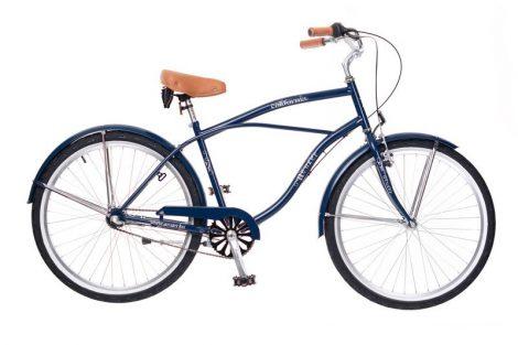 Neuzer California férfi cruiser kerékpár Kék