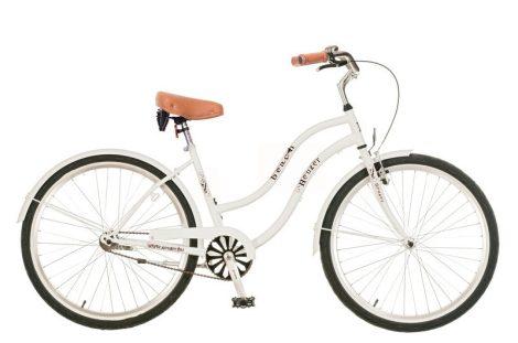 Neuzer Beach női cruiser kerékpár több Fehér