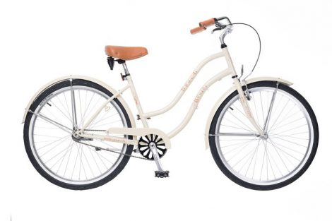 Neuzer Beach női cruiser kerékpár több Krém