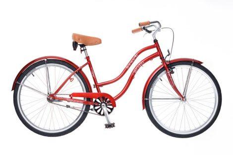 Neuzer Beach női cruiser kerékpár több Piros