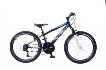 Neuzer Mistral 24 fiú gyermek kerékpár Fekete