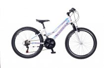 Neuzer Mistral 24 lány gyermek kerékpár Fehér