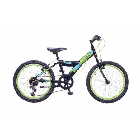 Neuzer Max 20 6 gyermek kerékpár Fekete
