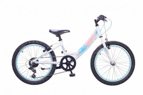 Neuzer Maja 20 6 gyermek kerékpár Fehér
