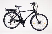"""Neuzer E-Trekking férfi 19"""" pedelec kerékpár Fekete"""