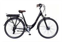 """Neuzer E-Trekking női 19"""" teleszkópos pedelec kerékpár Fekete"""