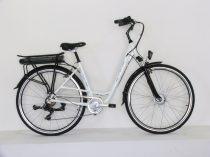 """Neuzer E-Trekking női 19"""" teleszkópos pedelec kerékpár Fehér"""
