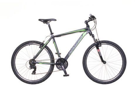 """Neuzer Mistral 50 férfi 15"""" MTB kerékpár Fekete-Zöld"""