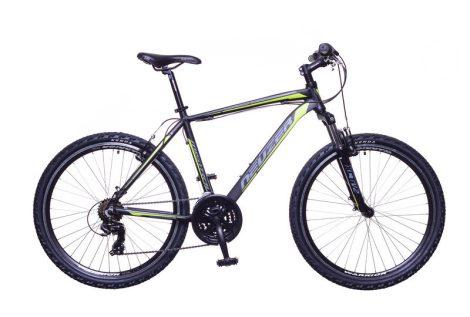 """Neuzer Mistral 30 férfi 15"""" MTB kerékpár Fekete-Zöld"""