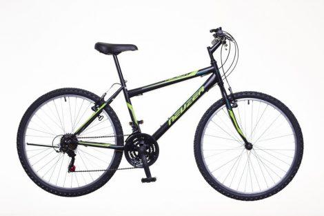 """Neuzer Nelson 18 férfi 15"""" MTB kerékpár Fekete-Zöld"""