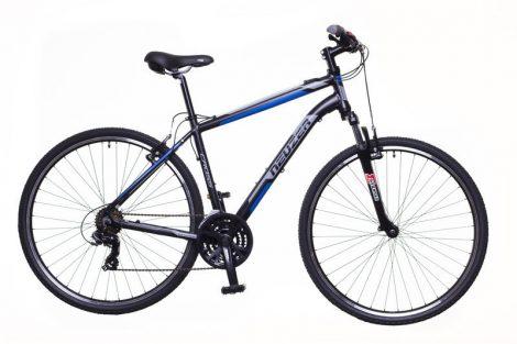 "Neuzer X-Zero 19"" férfi crosstrekking kerékpár fekete-kék"