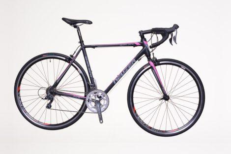 Neuzer Whirlwind 100 52 cm országúti kerékpár Fekete-Rózsaszín