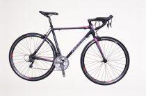 Neuzer Whirlwind 100 54 cm országúti kerékpár Fekete-Rózsaszín