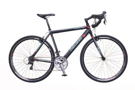 Neuzer Courier CX 56 cm cyclecross kerékpár fekete-kék