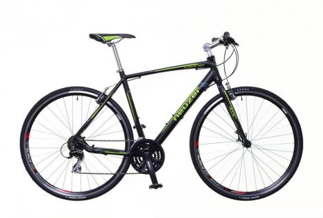Neuzer Courier fitness kerékpár 46 cm fekete-zöld