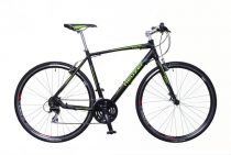 Neuzer Courier fitness kerékpár 50 cm fekete-zöld