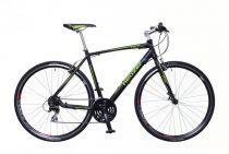 Neuzer Courier fitness kerékpár 56 cm fekete-zöld