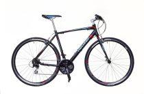 Neuzer Courier fitness kerékpár 56 cm fekete-kék
