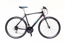 Neuzer Courier fitness kerékpár 59 cm fekete-kék