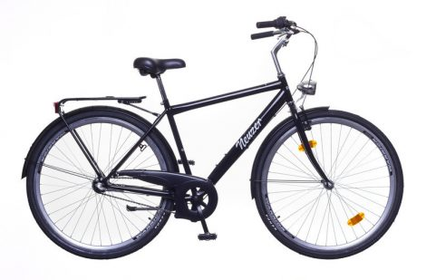 Neuzer Balaton férfi 3 seb. városi kerékpár Fekete