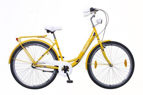 Neuzer Balaton Plus 3 seb. városi kerékpár Sárga