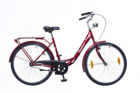 Neuzer Balaton 26 1 seb. városi kerékpár Piros