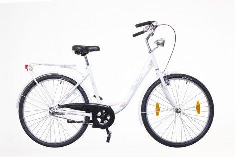 Neuzer Balaton 26 1 seb. városi kerékpár Fehér