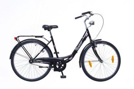 Neuzer Balaton 26 1 seb. városi kerékpár Fekete